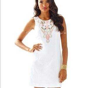 Lilly Pulitzer Logan Shift Embroidered Dress